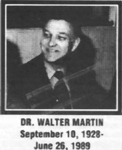 Image result for dr. walter martin